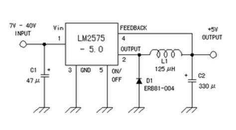 rangkaian power supply switching 5v gambar skema rangkaian elektronika