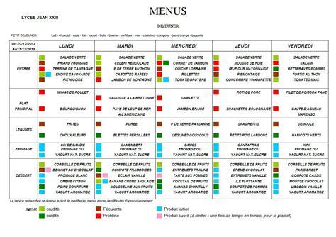 menu semaine cuisine az menus de la semaine du 7 au 11 décembre 2015 apel jean