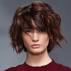 Coupes Cheveux Mi Longs 2018 : coiffures coupes mi longues tendances automne hiver 2017 2018 page 5 ~ Melissatoandfro.com Idées de Décoration
