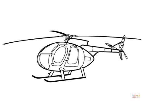 hughes  helicopter coloring page  printable