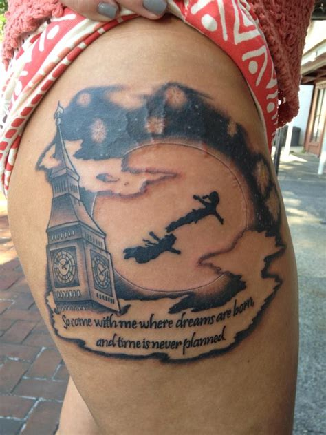 peter pan tattoos inspiring tattoos