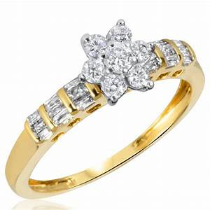 yellow gold engagement rings yellow gold engagement rings With wedding rings for under 500