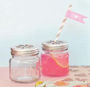 50 diy jar glass flower lid birthday baby bridal wedding favor ebay