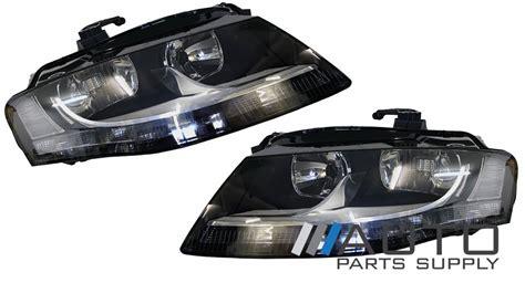 audi a4 headlights lights ls b8 set non xenon 2008
