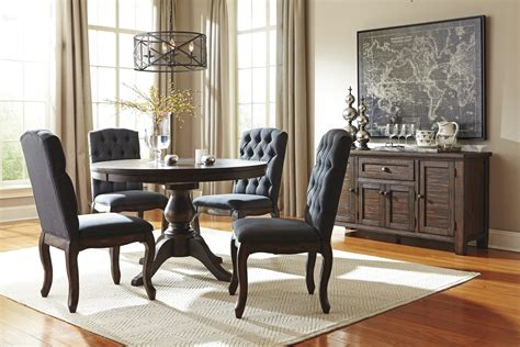 piece  dining table set  upholstered side