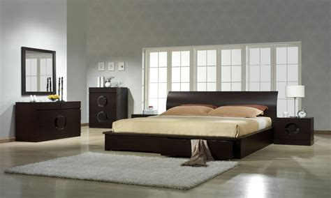 platform bedroom set modern contemporary italian bedroom