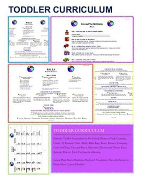 toddler curriculum pre school early learning and toddlers