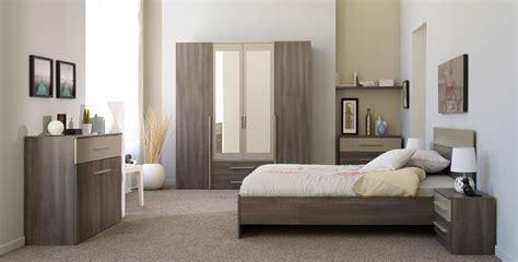 chambre adulte complete pas chere chambre adulte complète contemporaine coloris réglisse