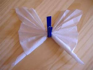 Pliage De Serviette En Papier Facile : pliage de serviette en forme de papillon ~ Melissatoandfro.com Idées de Décoration