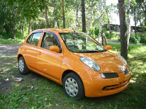 Nissan March Photo by 2006 Nissan March For Sale 1 3 Gasoline Ff Automatic