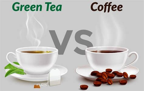 However, each of them holds their own importance. I Have More Caffeine Content - Coffee vs Green Tea ...