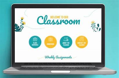 Canvas Homepage Templates Buttons Lms Template Classroom
