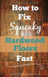 How to fix squeaky hardwood floors fast for How to stop squeaky wood floors