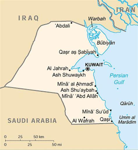 Kuwait Maps