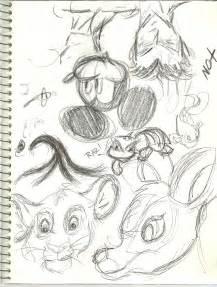 Disney Character Pencil Drawings