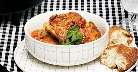 recette poulet cacciatore glouton