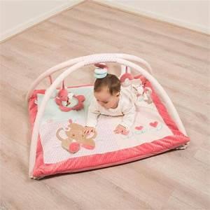 nattou tapis d39eveil charlotte et rose doudouplanet With tapis chambre bébé avec envoi fleurs naissance