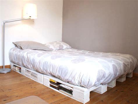 construire un canape avec des palettes un cadre de lit à base de palettes mademoiselle je sais tout