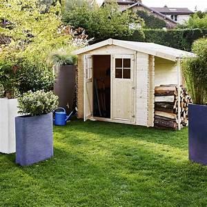 Abri De Jardin Avec Bucher : abri de jardin en bois b cher 7 26 m ep 28 mm ~ Dailycaller-alerts.com Idées de Décoration