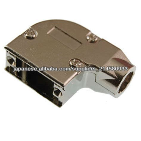 Connector Backshell Hood For D sub 15 Way 90 Degree