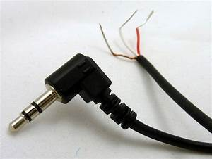 Philmore 6 Ft Audio Cable Right Angle 3 5mm  1  8 U0026quot   Stereo