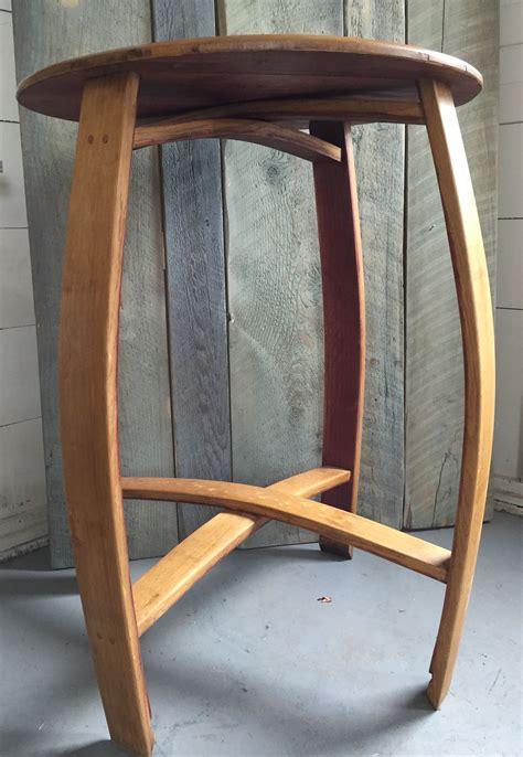 buy  hand  wine barrel bistro table indoor