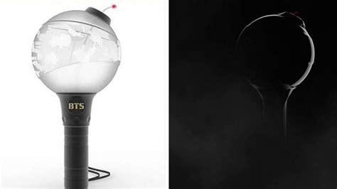 lightstick bts army bomb ver dilengkapi aplikasi pengontrol warna lampu  gambaran