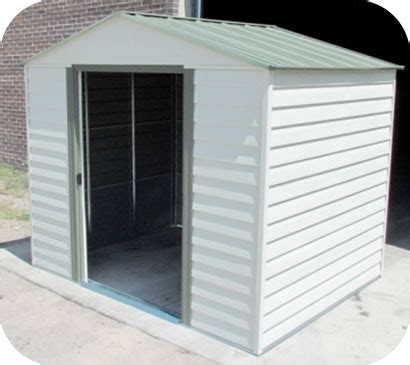 arrow 8x6 storage shed metal sheds steel storage shed kits