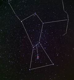Star Constellations Orion