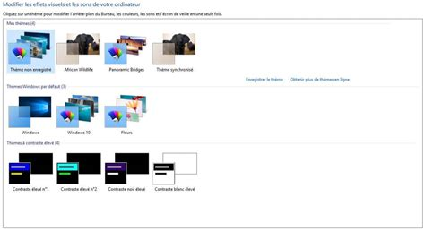 theme bureau windows 7 comment choisir des fonds d 39 écran en particulier dans un