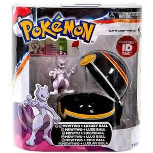 pokemon toys clip n carry mewtwo luxury ball