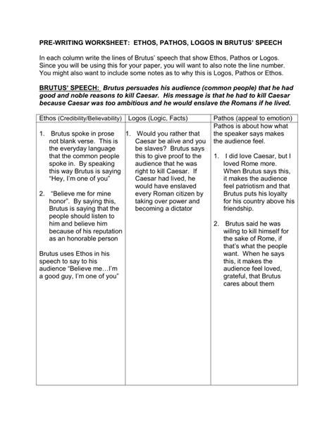 worksheet logos ethos pathos worksheet worksheet