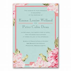 paradise garden invitation gt wedding invitations staples With wedding invitations from staples