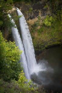 Wailua Falls Kauai Hawaii Waterfalls