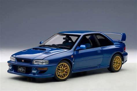 Autoart 1998 Subaru Impreza 22b Upgraded Version Blue