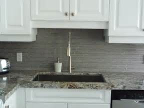 Kitchen With Glass Tile Backsplash Kitchen Remodeling Glass Backsplash Granite Counter Http Www Keramin Ca Traditional