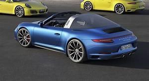 Porsche 911 Targa : 2017 porsche 911 carrera 4 and targa 4 models make debut ~ Medecine-chirurgie-esthetiques.com Avis de Voitures