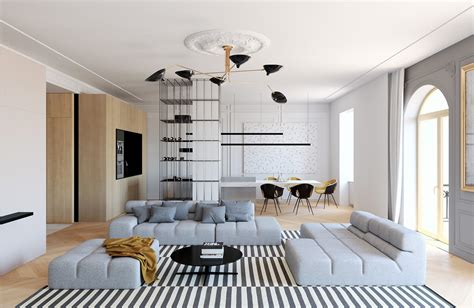 modern decor meets classical features   transitional