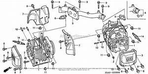 Honda Engines Gxv530 Eea1  A Engine  Jpn  Vin  Gjarm