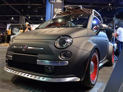 custom fiat  beach cruiser sema