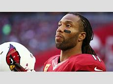 Arizona Cardinals wide receiver Larry Fitzgerald says he