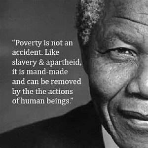 Mandela On Pove... Poverty And Religion Quotes