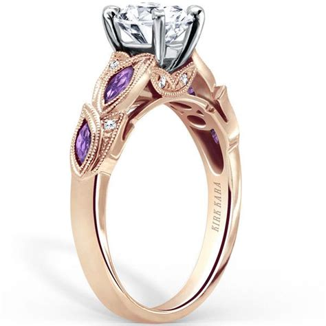 17 Best Images About Purple Amethyst Engagement Rings On. Transparent Engagement Rings. Expensive Rings. Sister Engagement Rings. English Rings. Oxidized Wedding Rings. Twist Rings. Light Blue Diamond Wedding Rings. Layering Engagement Rings