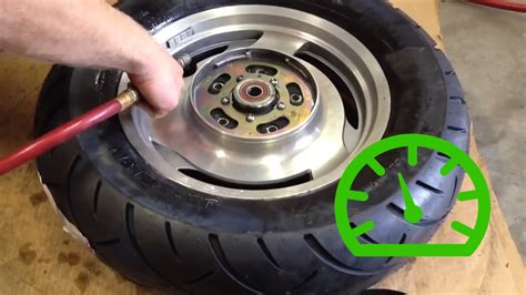 How To Change A Motorcycle Tire (with Pictures)