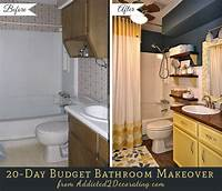 small bathroom makeovers 20-Day Small Bathroom Makeover – Before and After