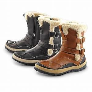Women's Merrell® Taiga Buckle Waterproof Boots - 297346 ...