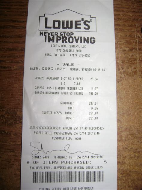 lowes warranty number i purchased a 128 ld husqvarna string trimmer on string trimmers forum answerarmy