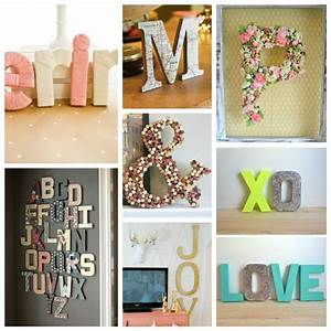 14 ways to decorate cardboard letters tomato boots With letters to decorate