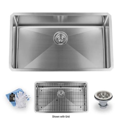 who makes miseno sinks miseno mss163018sr 16 stainless steel 30 quot undermount