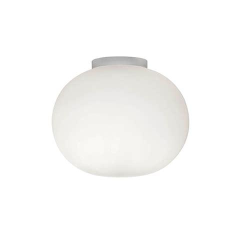 flos glo c w zero ceiling light flos